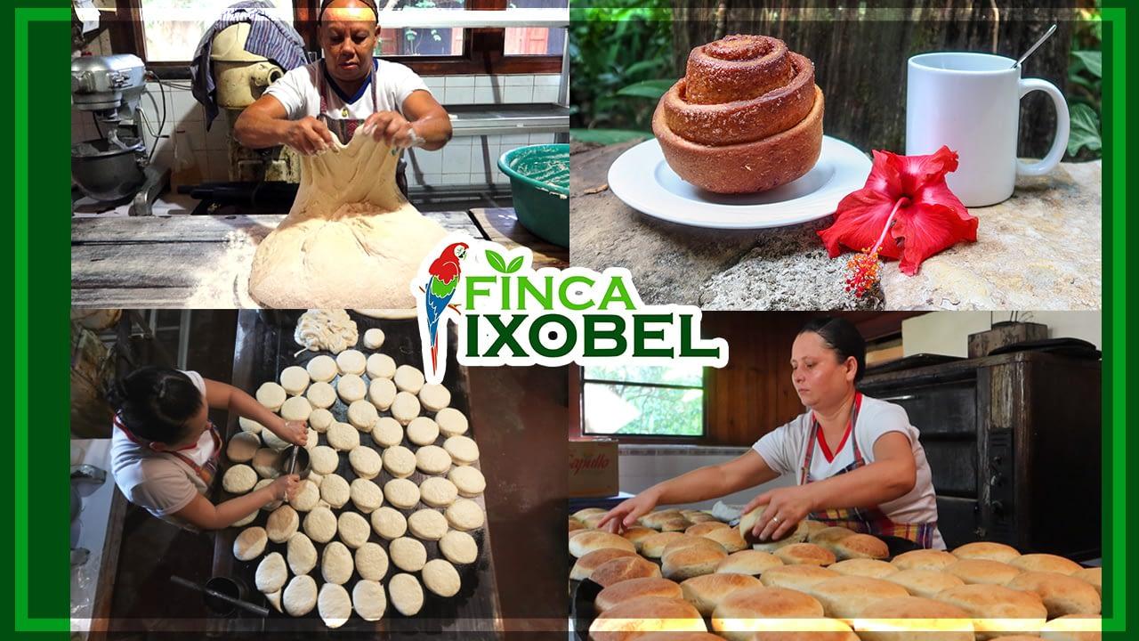 finca ixobel poptun peten guatemala panaderia