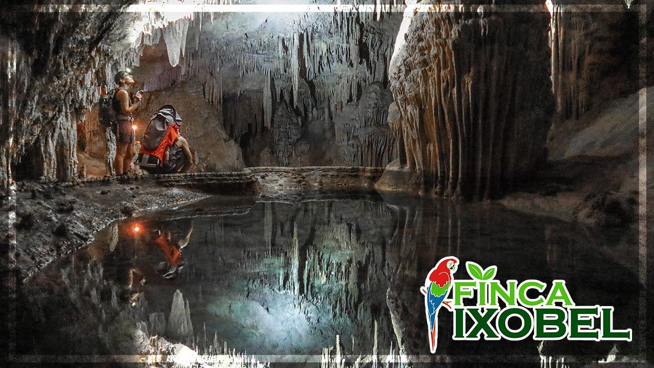 finca ixobel poptun peten guatemala ixobel cave tour