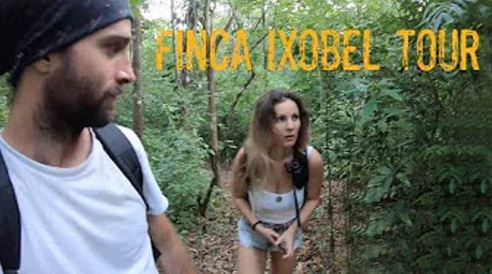 finca ixobel eco hotel poptun peten guatemala youtube