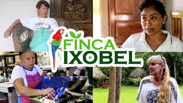 finca ixobel eco hotel poptun peten guatemala documentary