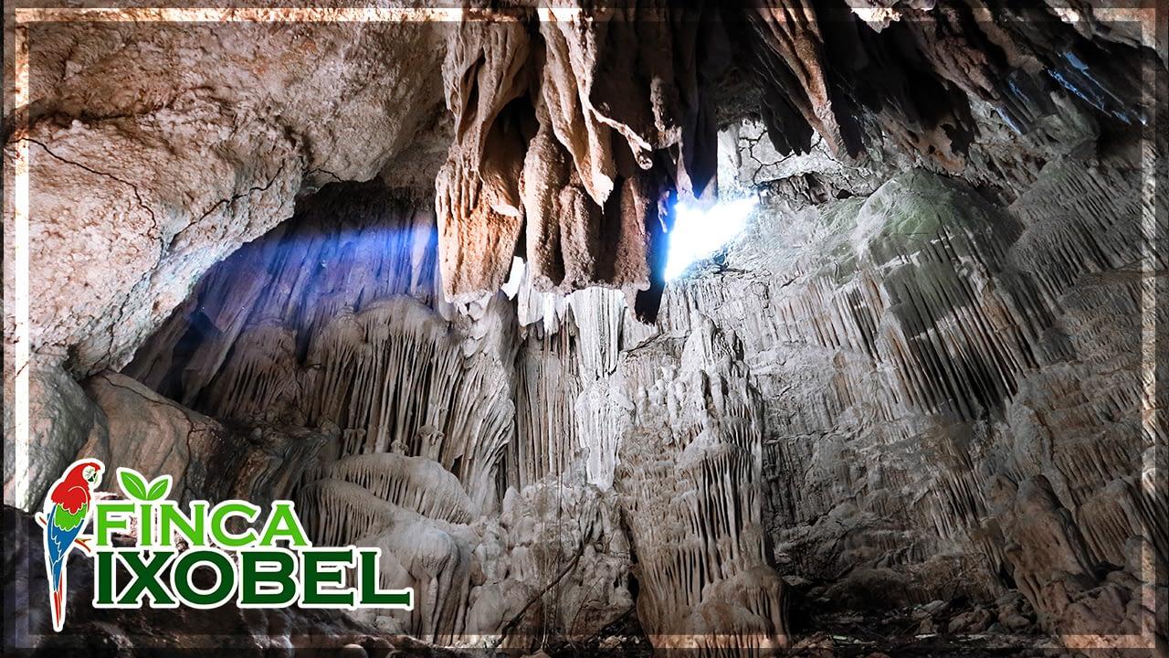 echo eco cave tour finca ixobel ecological hotel poptun peten guatemala