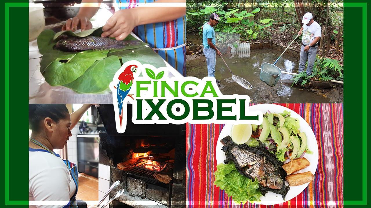 finca ixobel poptun peten guatemala restaurante